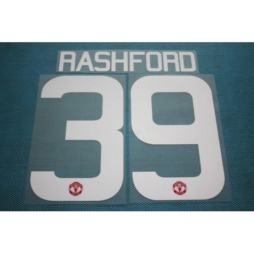 d6aa9577c18 Premier League 2015-2016 Manchester United  39 Rashford HomeKit Nameset  Printing