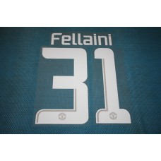 Manchester United UEFA Champions League 2013 - 2014 #31 Fellaini HomeKit / Awaykit Name set Printing